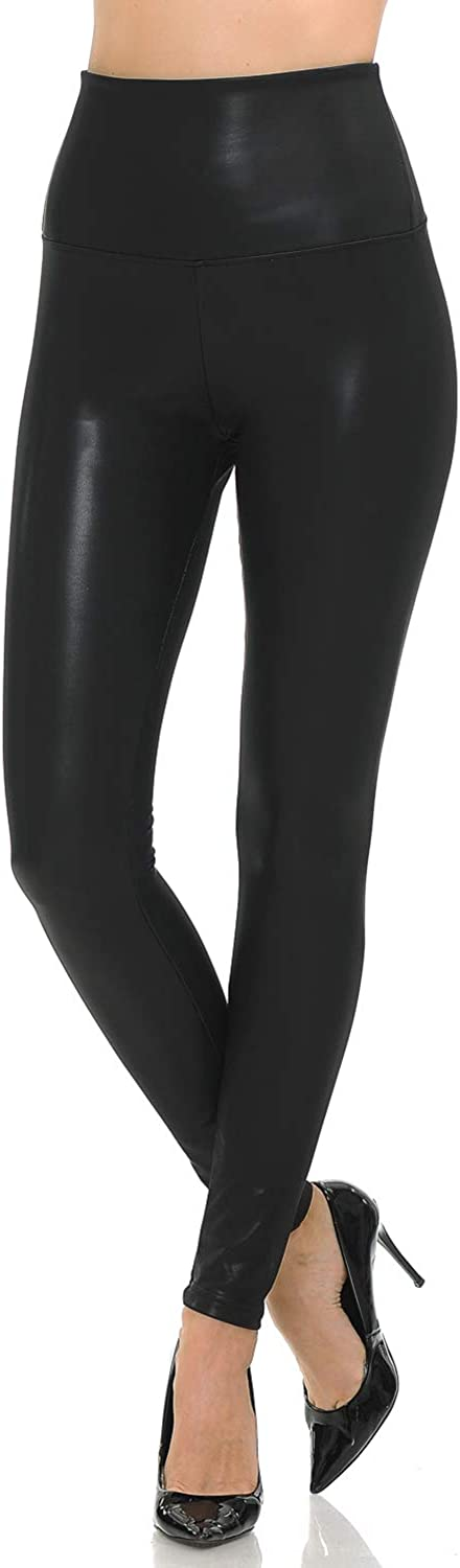VIV Collection Signature Full Length & Capri Leggings Yoga Waistband   Solid Brushed at  Women's Clothing store