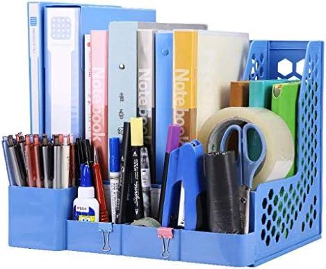 Datei Halter Ordner Aufbewahrungsbox Desktop-Datenspeicherregal Ordner Regal Convenience (Farbe: A) Xping (Color : B)