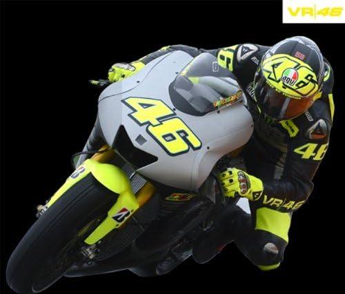 Blu Donna Colore Valentino Rossi MotoGP Felpa con Cappuccio