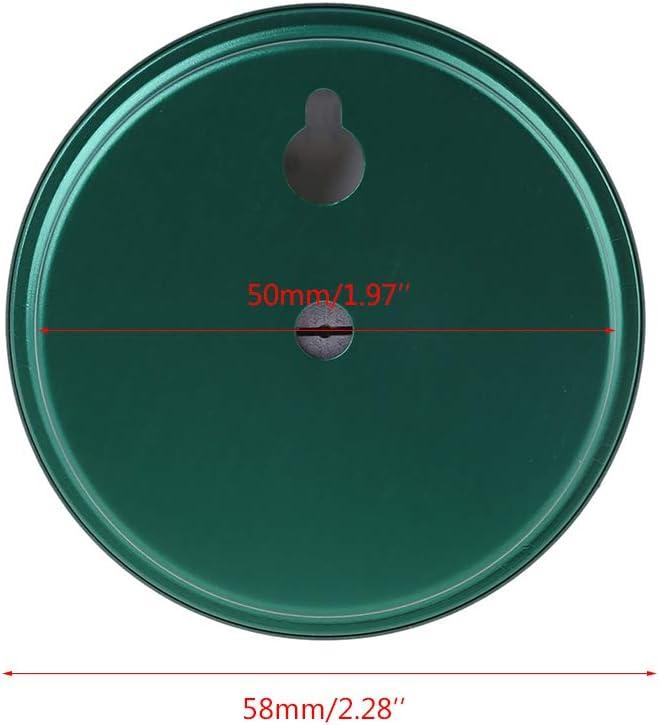 siwetg 2 In 1 Indoor Thermometer Hygrometer Humidity Temperature Gauge Meter Mechanical Aluminum Alloy Thermometer and Hygrometer with Degrees Fahrenheit