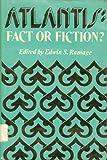 Atlantis, John V. Luce, S. Casey Fredericks, J. Rufus Fears, Dorothy B. Vitaliano, Herbert E. Wright Jr., 0253104823