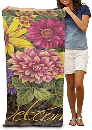"K-GHAdiy Colorful Spring Summer Welcome Pool Towel 31""x 51"""