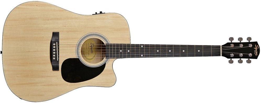 Fender 0930307006 SA-105CE Dreadnought - Guitarra eléctrica, color ...