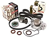 Evergreen TBK226WP 93-01 2.2L Honda Prelude VTEC H22A1 H22A4 Timing Belt Kit GMB Water Pump