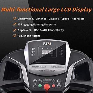 BTM W501 Electric Treadmill Fo...