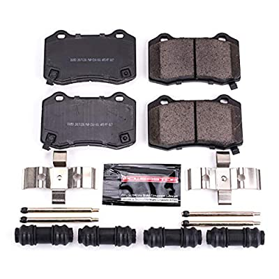 Power Stop Z23-1053, Z23 Evolution Sport Carbon-Fiber Ceramic Rear Brake Pads: Automotive