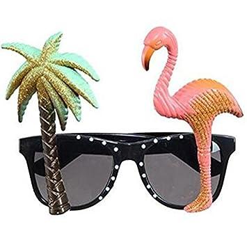 OFKPO Gafas para fiestas - Gafas de fiesta Hawaii, fiesta divertido Gafas de sol