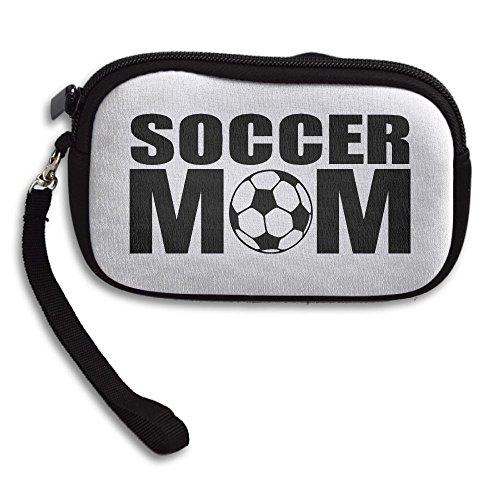 Zipper Small Wallet Soccer Mom Women's Purse Porte-monnaie Clutch Cards Holder Wallet Purse Business Card Wallet