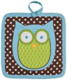 KAF Home Hoot Stuff Pot Holder, Designed for Light Duty, 100% Cotton, Machine Washable