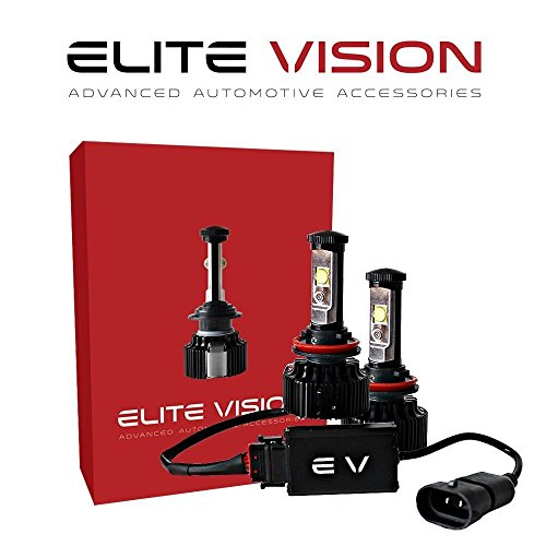 Elite Vision Advanced Automotive Accessories - Elite LED Conversion Kit H11 (H8,H9, H16) for Bright White Headlights Bulbs, Low Beams, High Beams, Fog - 2009 Accessories Nissan Murano