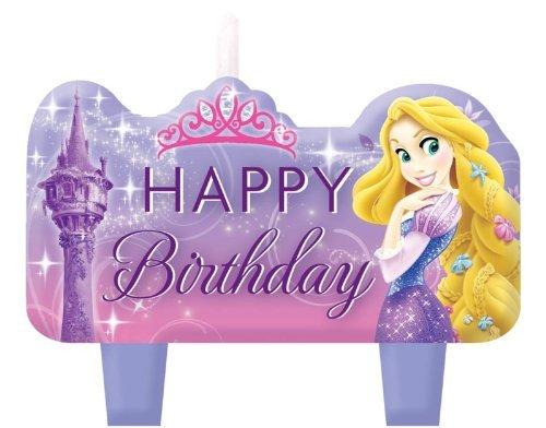 Rapunzel Mini Molded Candles 4ct ()