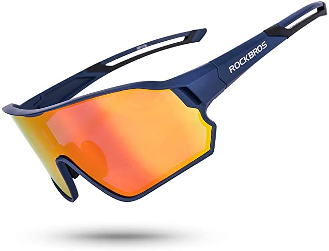 Amazon.com: ROCK BROS Gafas de sol polarizadas deportivas HD ...