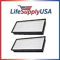 20 Pack Hepa Air Filter fits Holmes HoneyWell Vicks Part # 16216, HRC1, HAPF30, HAPF30D, HAPF30CS - By LifeSupplyUSA