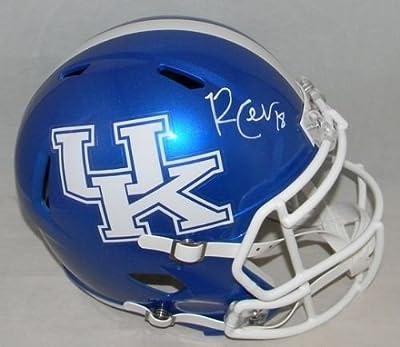 Randall Cobb Signed Kentucky Wildcats Full Size Speed Helmet - JSA Certified