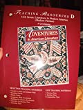 Adventures in Literature, Teaching Resource D (Unit 7), Holt, Rinehart and Winston Staff, 0030954649