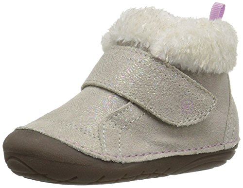 Stride Rite Girls' Soft Motion Sophie Fashion Boot, Champagne, 4.5 Medium US Toddler