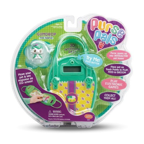 Wild Planet Purse Pals Gumdrop the Turtle by Wild Planet Wild Planet Purse Pals