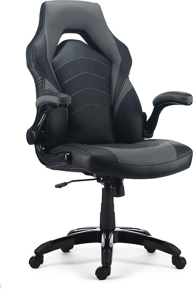 Staples Gaming Chair Black and Grey