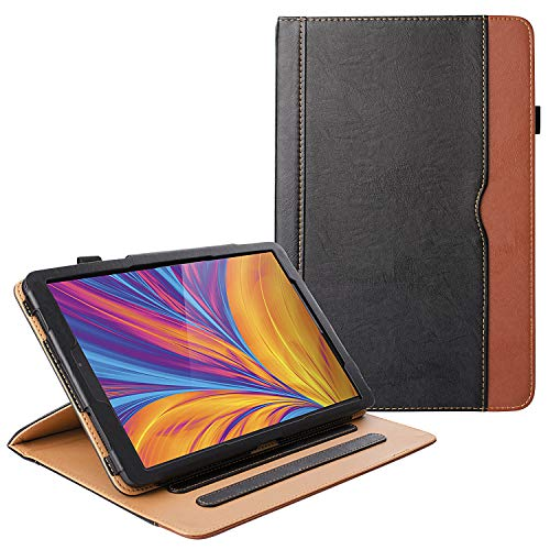 ZoneFoker Galaxy Tab A 10.1 inch 2019 Tablet Leather Cover Case, 360 Protection Multi-Angle Viewing Folio Stand Cases…