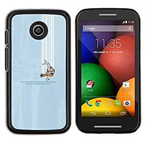 LECELL--Funda protectora / Cubierta / Piel For Motorola Moto E -- cayendo --