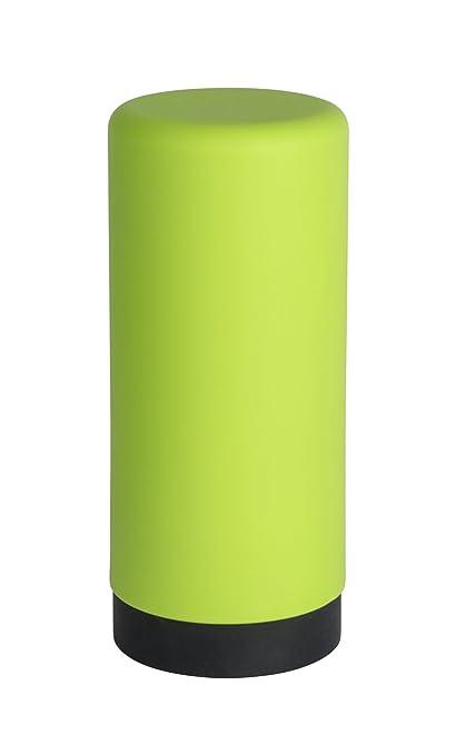Wenko Easy Squeez-E Dispensador de Detergente 0.25 L, Silicona, Verde, 6x6x14