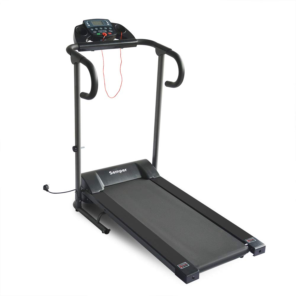 Apelila Electric Folding Treadmill Motorized Power Fitness Running Machine with LED Display (Type 2)