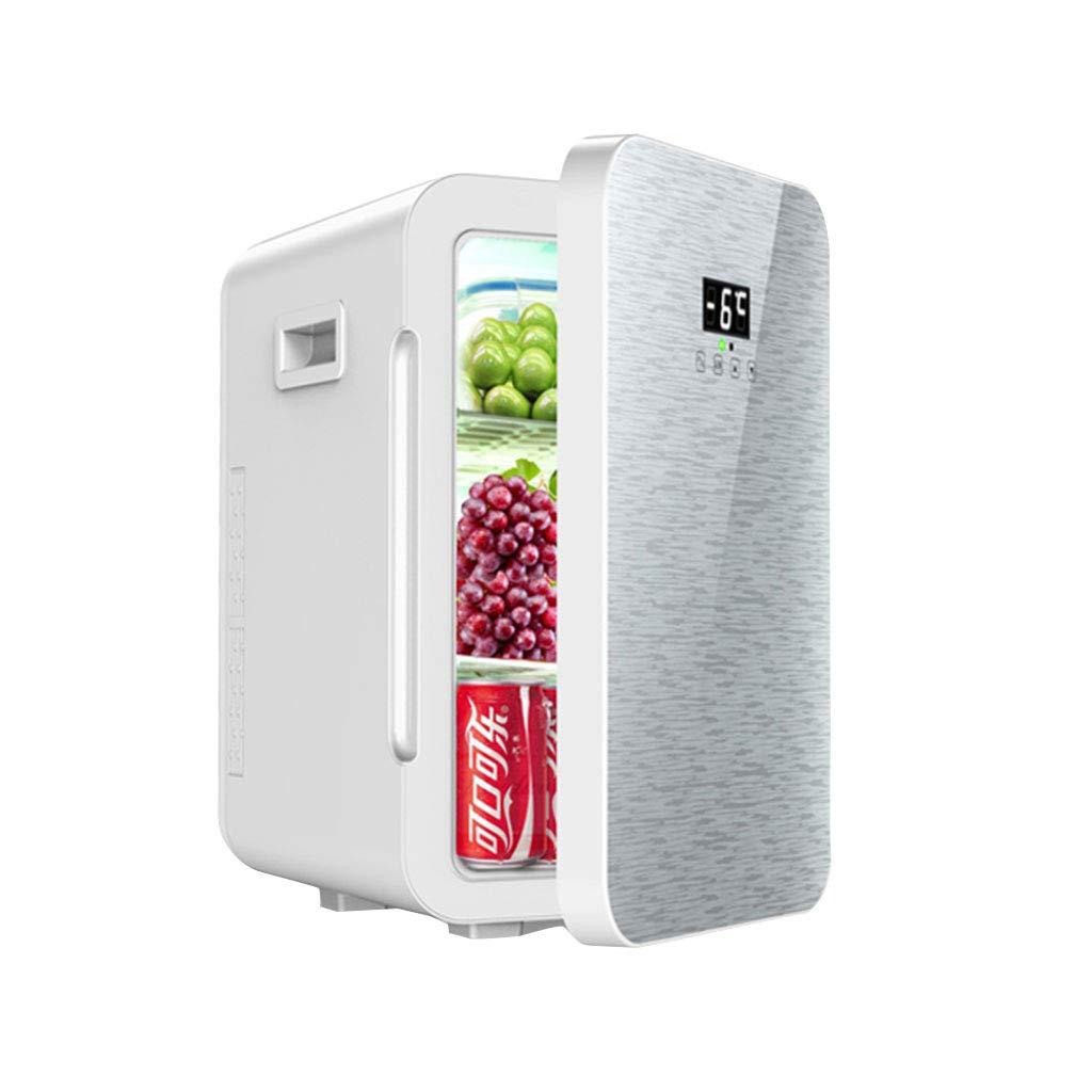 ミニ小型冷蔵庫シングルドア車冷蔵庫小型冷蔵冷蔵庫家庭用冷蔵庫多機能スマート冷蔵庫 (Color : Gray, Size : 45 * 29 * 34cm) 45*29*34cm Gray B07G9T8SVT