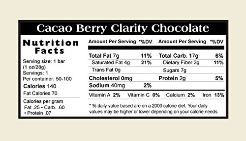 Cacao Berry Clarity Bars (10 pack)