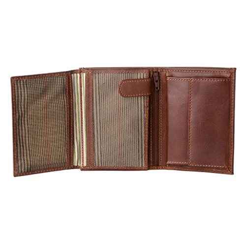 Nuvola Genuine Pelle Multi Purse Brown Card in Wallet Coin Vertical amp; Leather Holders function 8 Mens Providence History ~ 0rrydIcwq