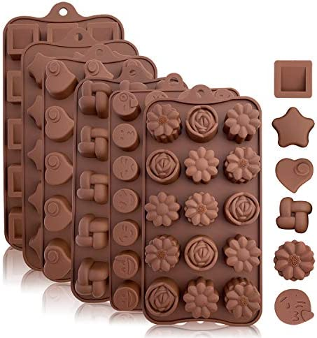 Silicone Candy Chocolate Molds Flexible product image