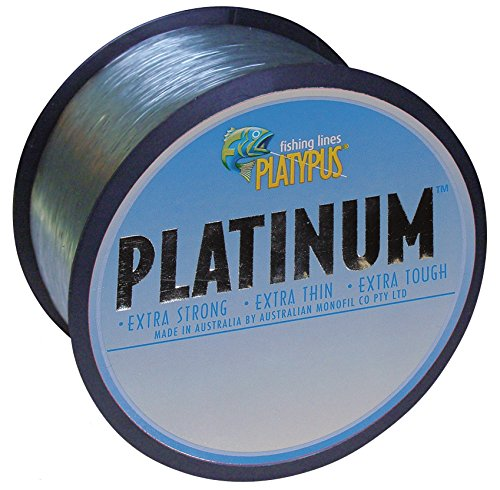 Platypus Platinum – World's Best Fishing Line Since 1898! (Grey) (500m spool / 546 yards, 30 lb)