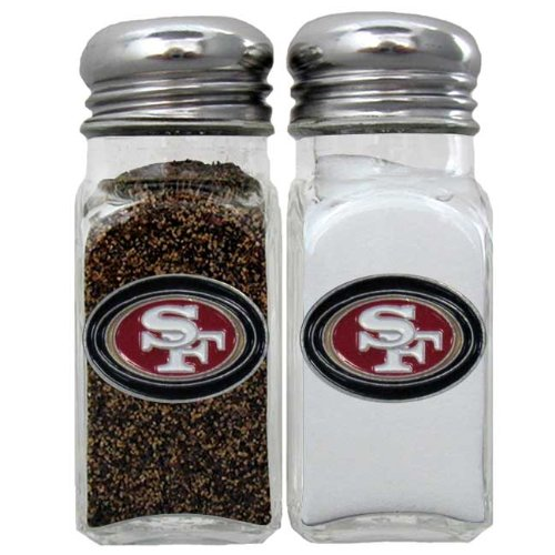 Siskiyou Gifts Co, Inc. NFL San Francisco 49ers Salt & Pepper Shakers by Siskiyou Gifts Co, Inc.