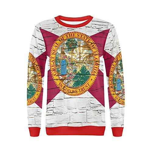 Lumos3DPrint Florida State Flag Women's Pullover Sweater -