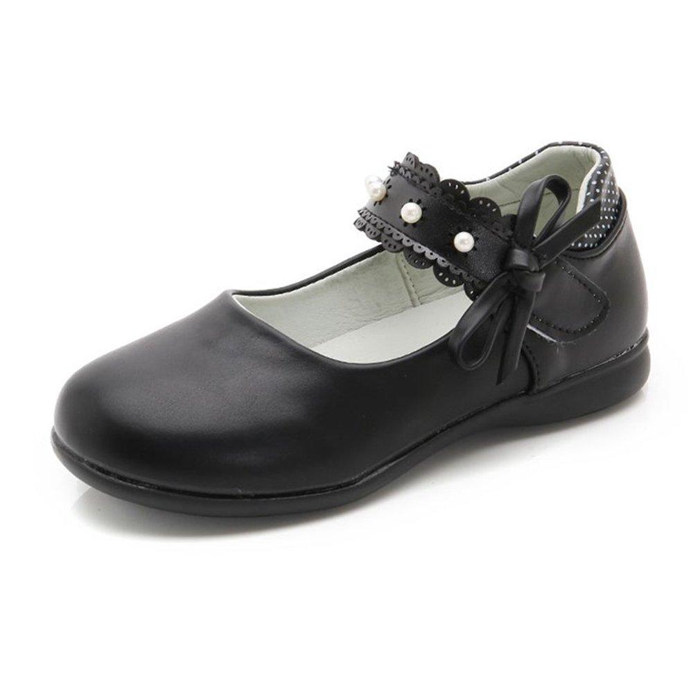 CYBLING Toddler Little Girls Mary Jane Style Side Bow Strap Dress Ballerina Ballet Flat Shoes