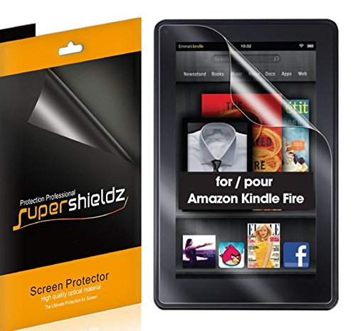 (3 Pack) Supershieldz Anti Glare (Matte) Screen Protector for Original Kindle Fire