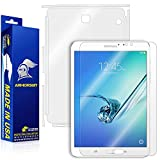 ArmorSuit MilitaryShield - Samsung Galaxy Tab S2 8.0-inch Screen Protector + Full Body Skin Protector - Anti-Bubble Ultra HD Shield w/ Lifetime Replacements