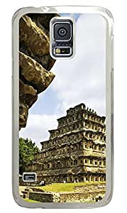 Samsung Galaxy S5 carry case Old Castle Pyramid PC Transparent Custom Samsung Galaxy S5 Case Cover