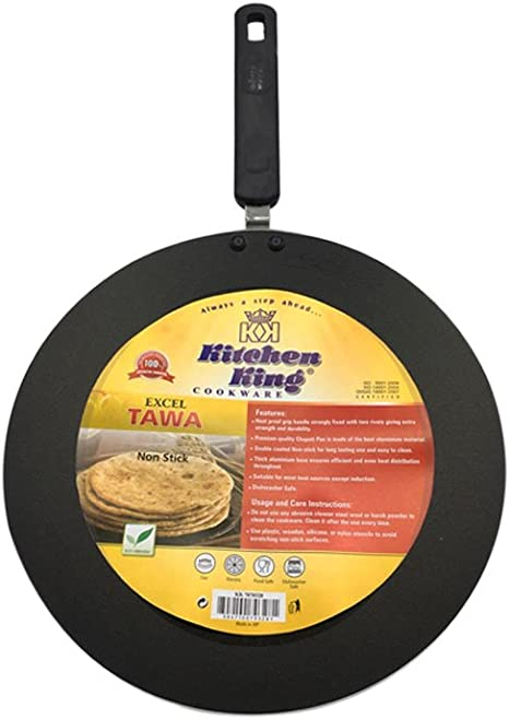 Kitchen King And Excel Indian Roti Tawa Tava Collection 30 Cm Chapati Pan Amazon De Home Kitchen