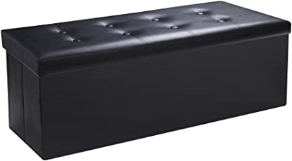 Sable Storage Ottoman Cube Foldable Bench  sc 1 st  Amazon.com : storage ottoman for kids  - Aquiesqueretaro.Com