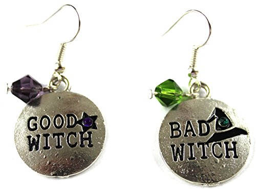 Good Witch Bad Dangle Earrings product image