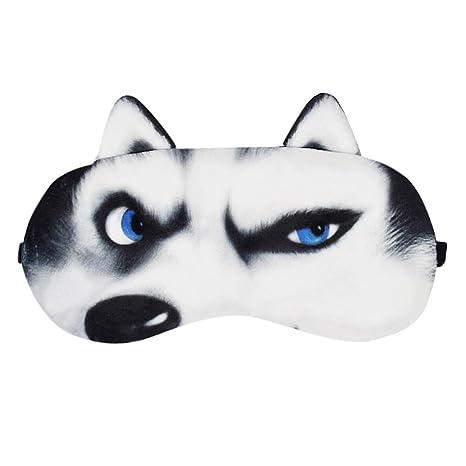Remeehi - Pack de máscara de Hielo para Cara de Perro 3D FUUNY con Ojos de