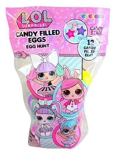 MGA LOL Easter Egg Hunt Eggs Filled with Candy! (12 Count) ()