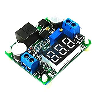 25W 2A DC 5-25V 12V to 0.5v-25V 24V LED Voltmeter Buck Boost converter Regulator