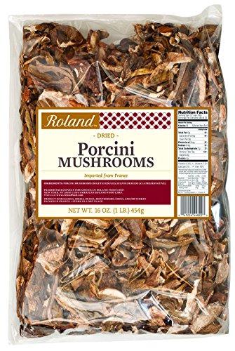 Roland Dried Mushrooms, Porcini, 16 Ounce (Mushrooms Porcini Dry)