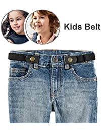 060086d29302 No Buckle Stretch Belt for Child Boys Girls Buckle Free Kids Belt Up to 24
