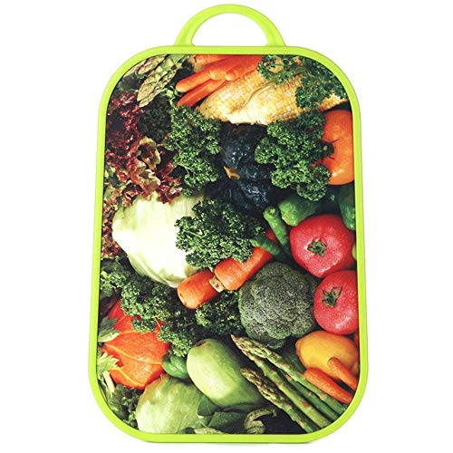 Amazon.com: Bear knight Kitchen Utensils Green Cut Vegetables Board Non - Slip Antibacterial Fruit Set Vegetable Plate Vegetable Plate: Kitchen & Dining