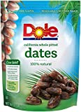 Dole California Whole Pitted Dates, 8 Ounce