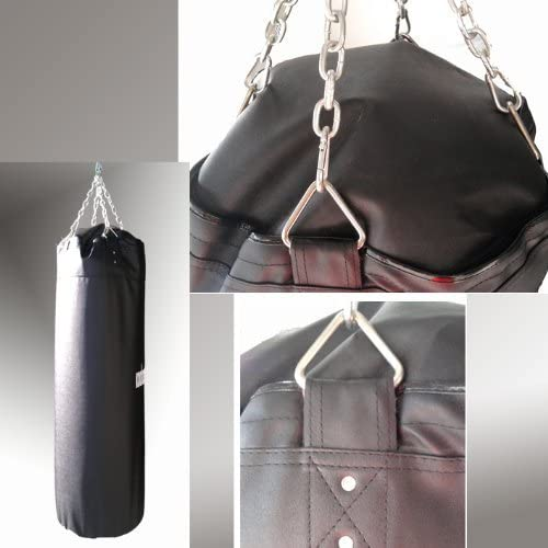 Punching Bag//thaiboxe Horizontal Red 20 kg Genuine Leather koolook 90x30cm