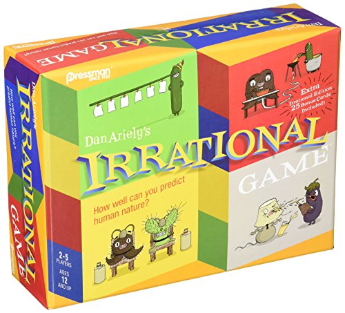 Pressman 3628 Irrational Game with Bonus Card Game, Multicolor (Irrational Games)