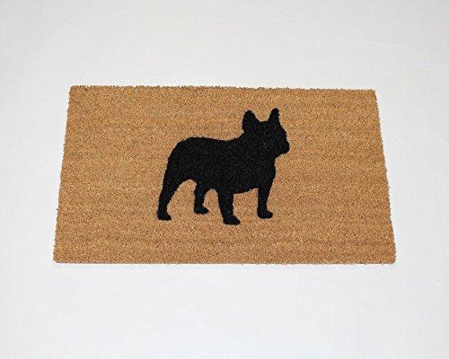 "French Bulldog Silhouette Doormat (18""x30"")"